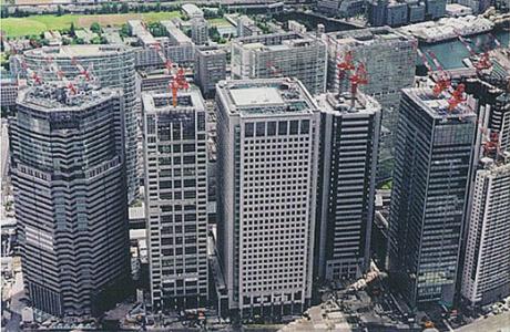 三菱商事三菱自動車品川新オフィス棟