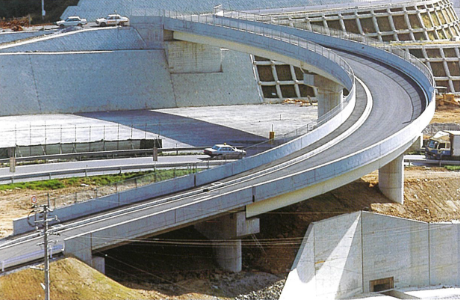 長崎バイパス内平跨道路橋